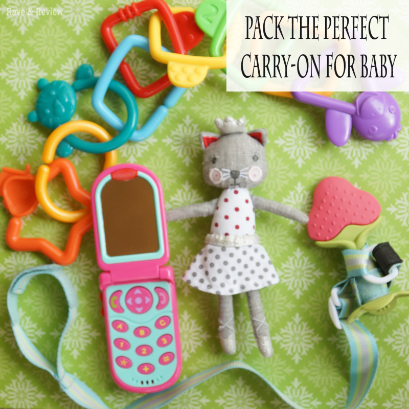 Carry-on toys for baby