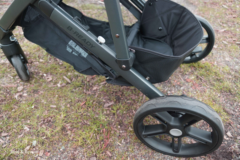 Britax 2017 B-Ready wheels
