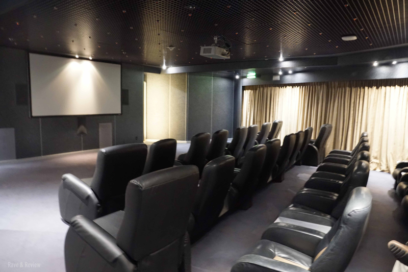 Holland America Screening Room