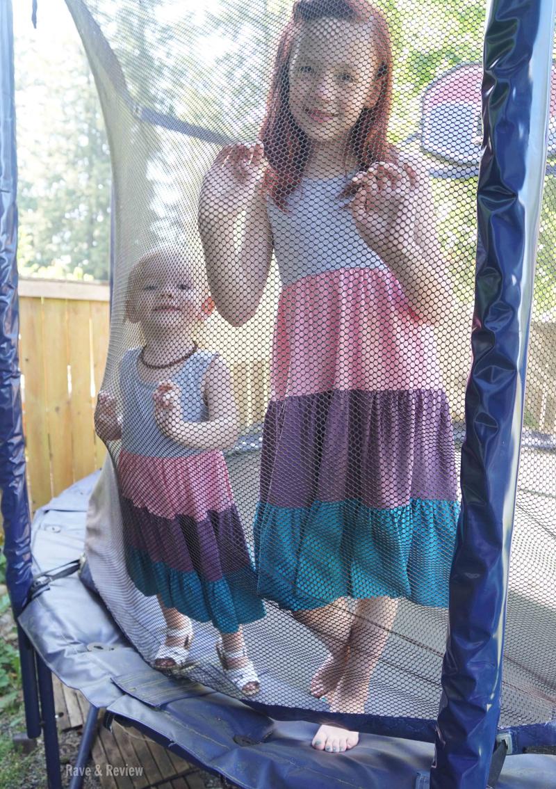 Trampoline girls