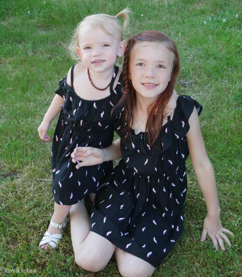 Gymboree dresses matching girls