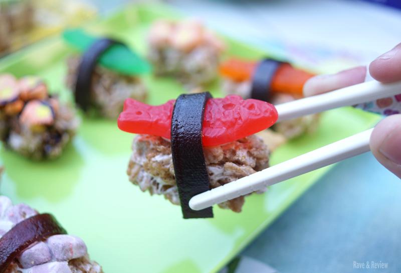 Fish snack sushi