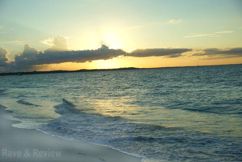 Beaches sunset