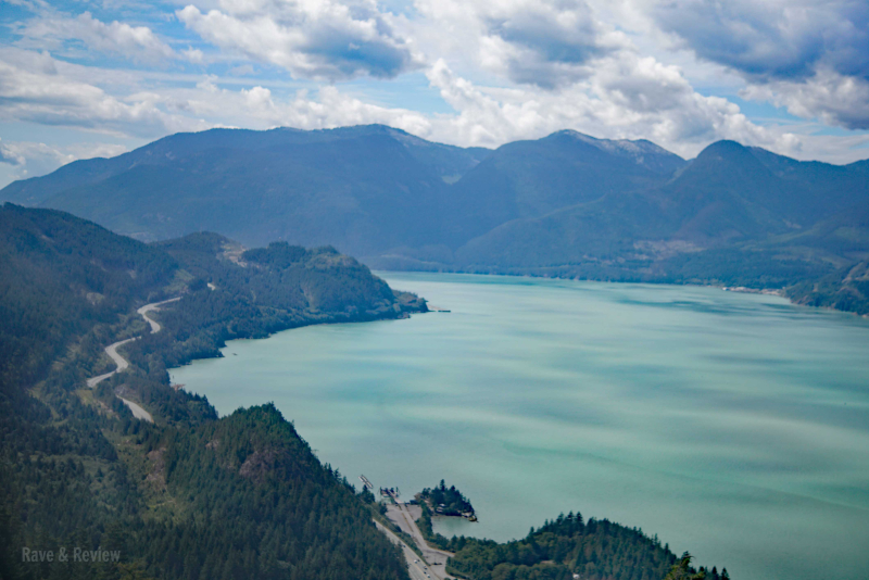 Squamish with highway 2