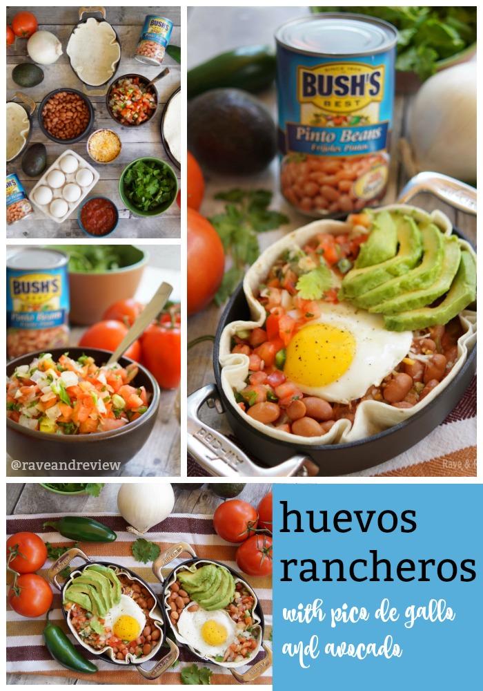 Huevos Rancheros with Bush's Beans