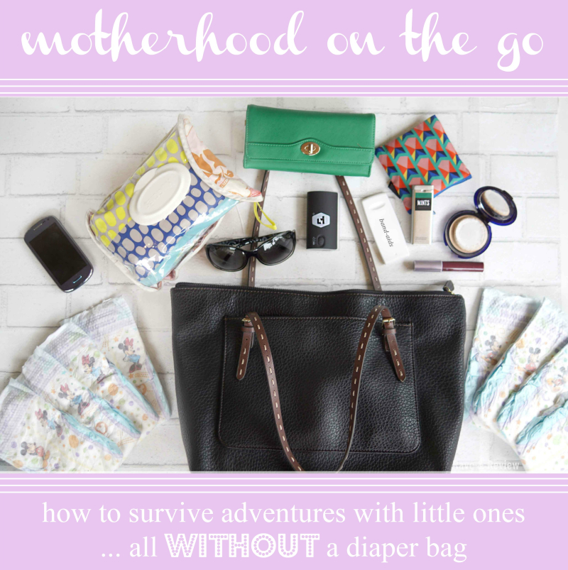 Huggies without a diaper bag 2
