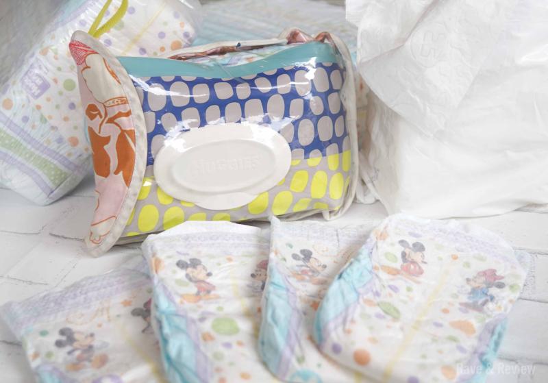Huggies diaper clutch