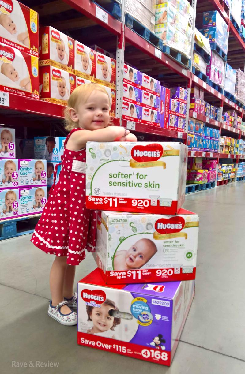 Sam's Club diapers