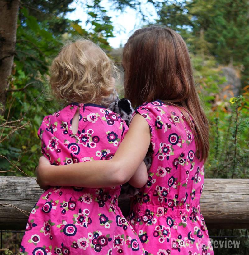 Matching Girls at zoo 3