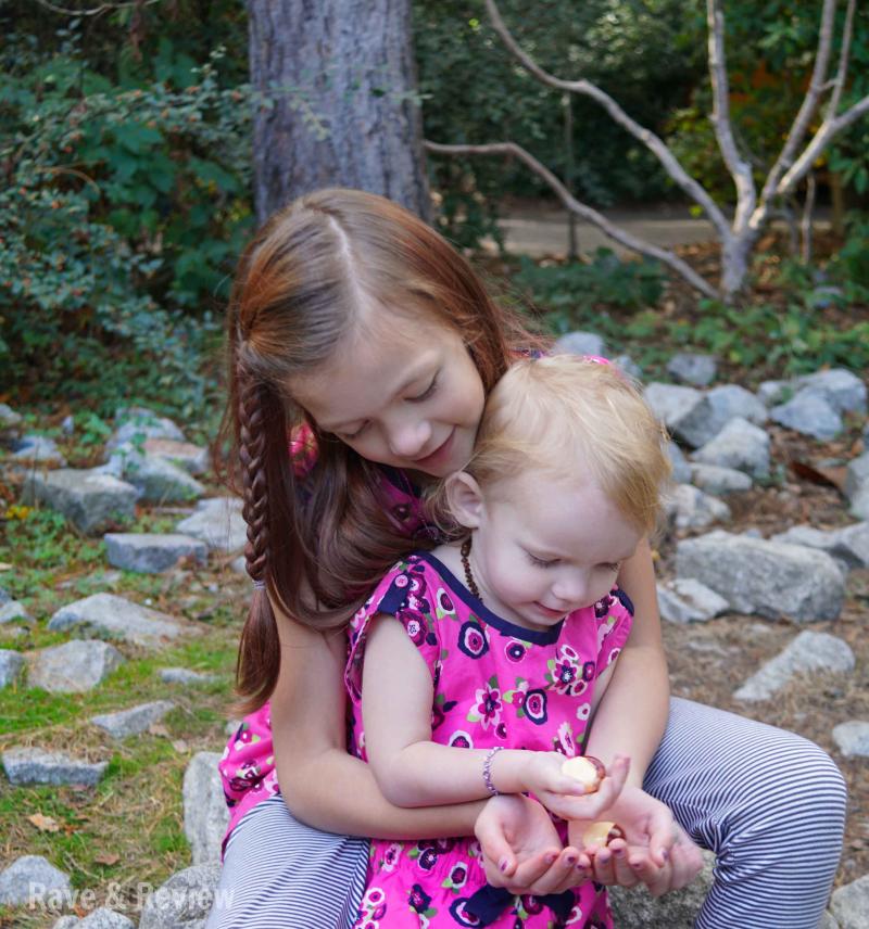 Matching Girls at zoo 11