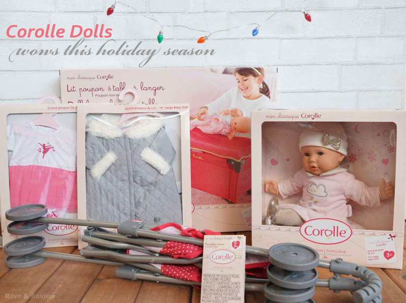 Corolle dolls wows this holiday season