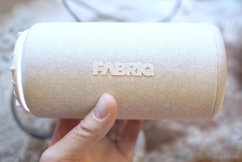 Fabriq speaker in hand