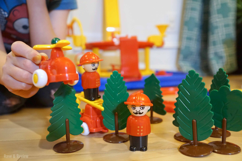 Viking toys fighting fires