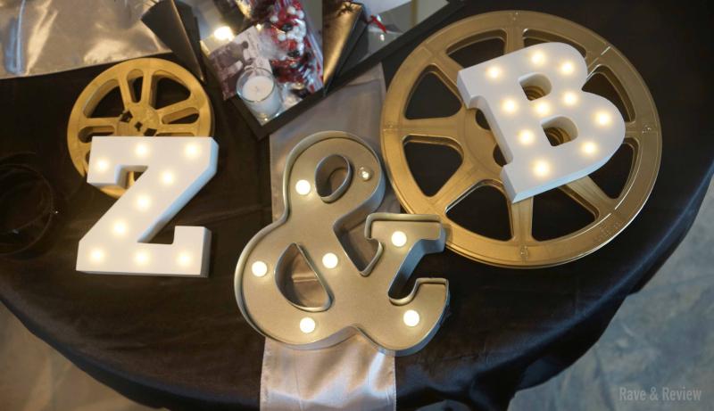 Hollywood Wedding popcorn