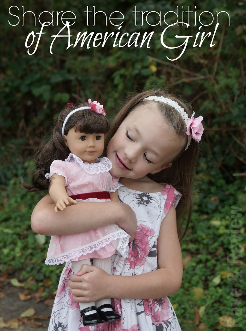 Share the tradition of American Girl