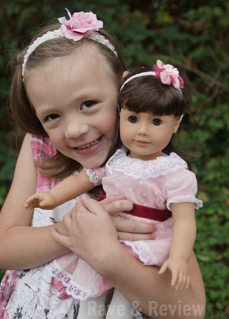 Kiddo and Samantha Doll