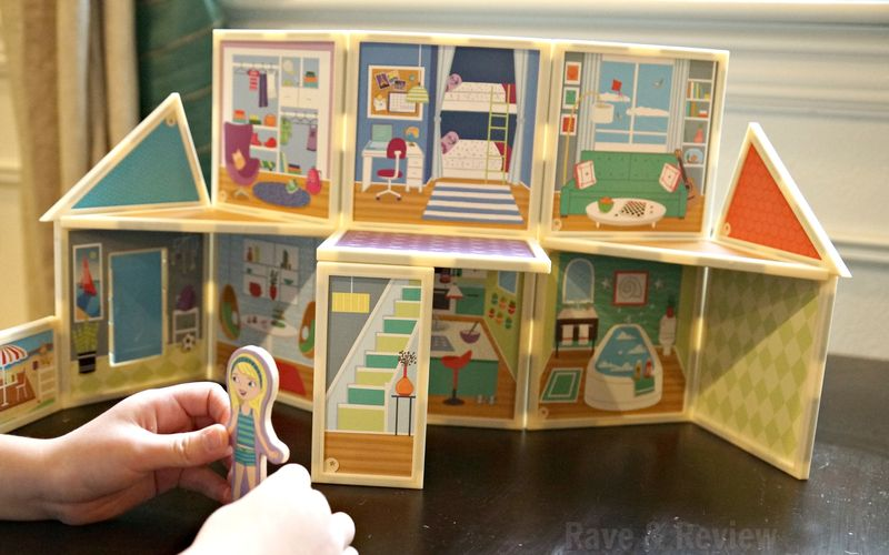 Build and Imagine doll house