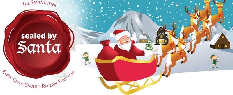 Sealed by Santa letter