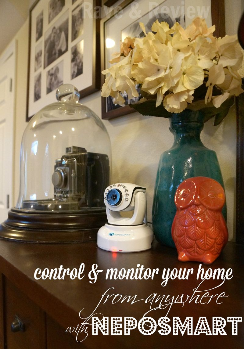Control and monitor your home with Neposmart