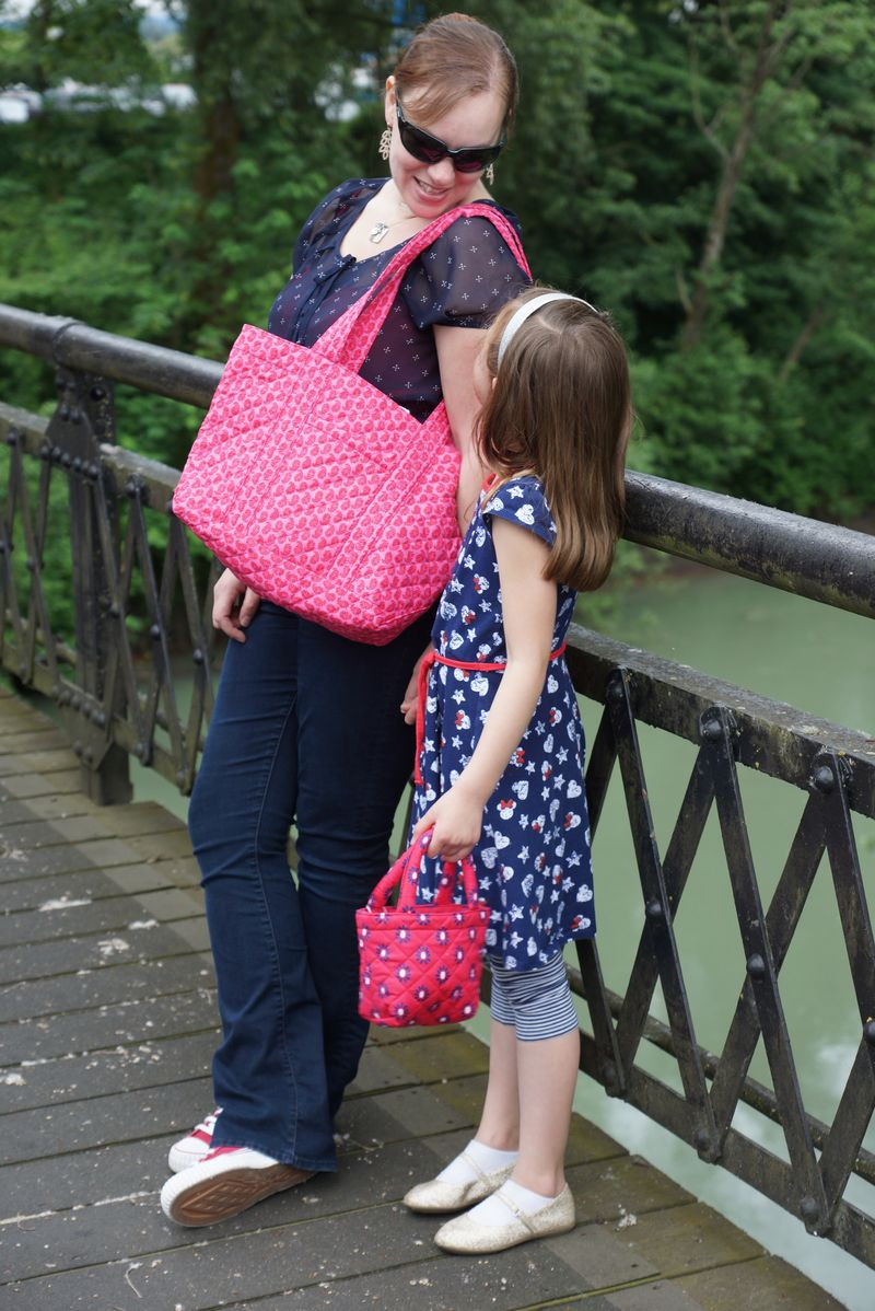 Mother Daughter Quilted Koala Totes