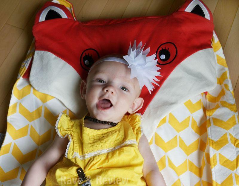 Oribel Foxey baby