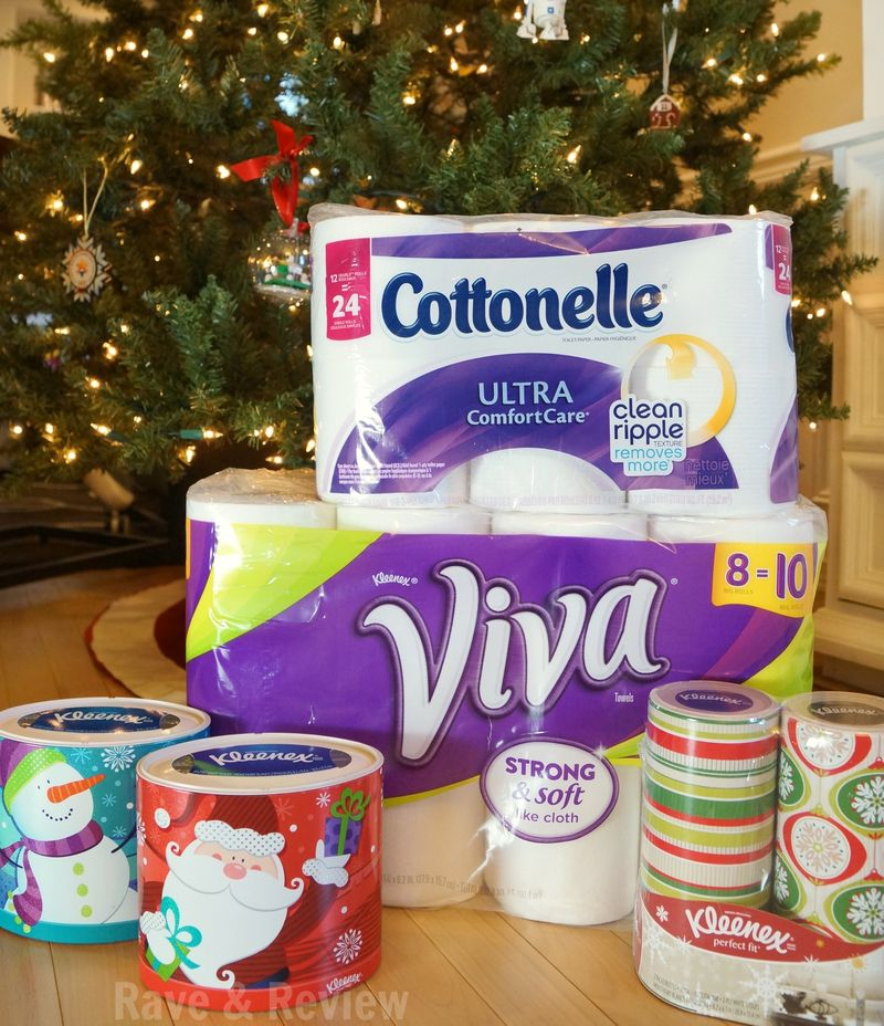 Viva Kleenex and Cottonelle