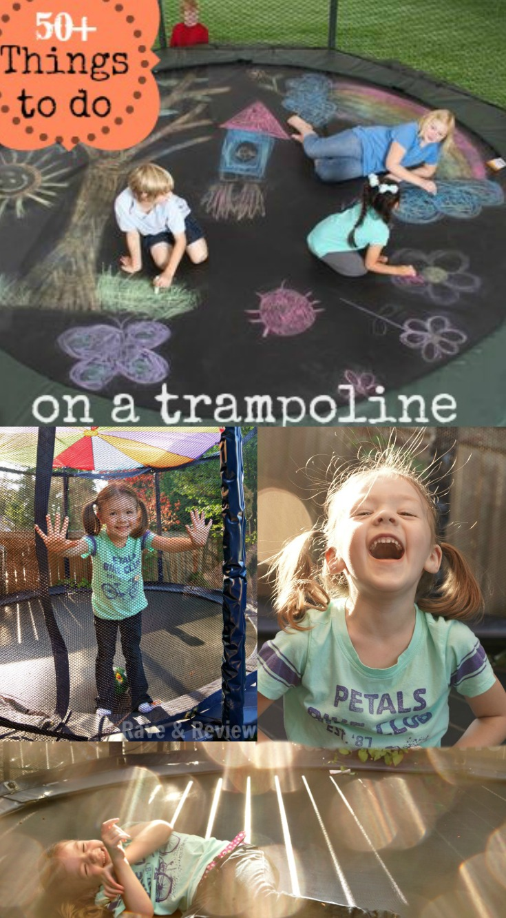50 Plus things to do on a trampoline