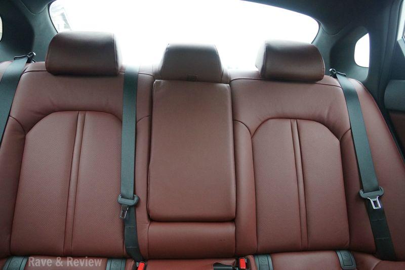 Kia Optima back seats