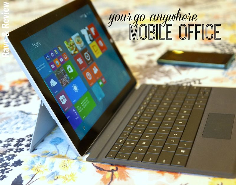 Go-To Mobile Office with Surface