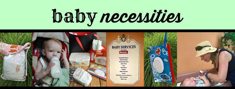 Disney baby necessities