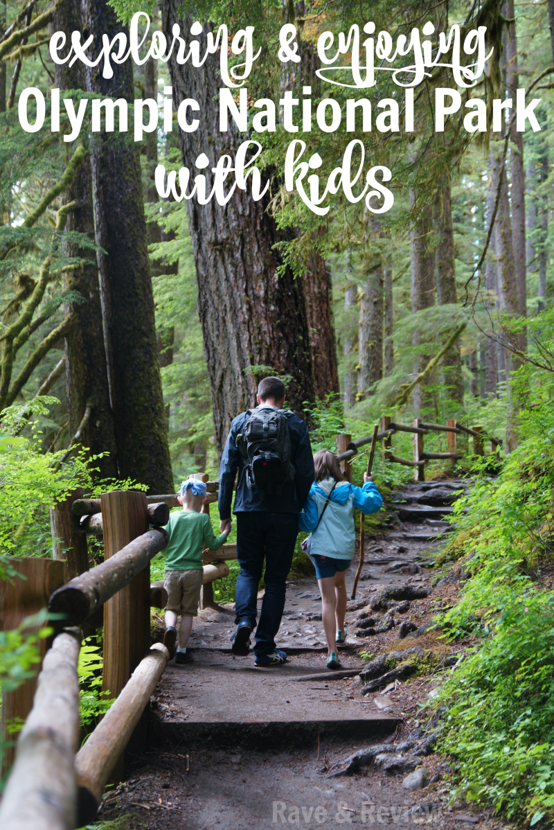 Exploring and enjoying Olympic National Park with kids