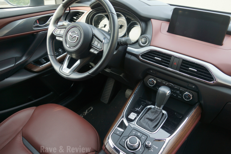 Mazda CX9 front seat