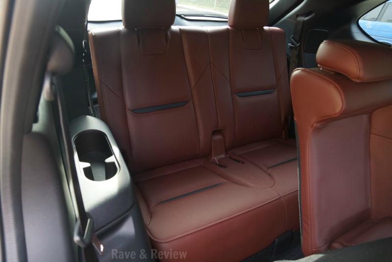 Mazda CX9 3rd row