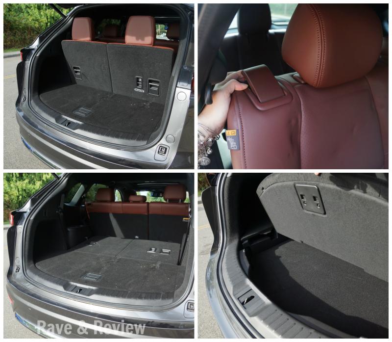 Mazda CX9 back storage