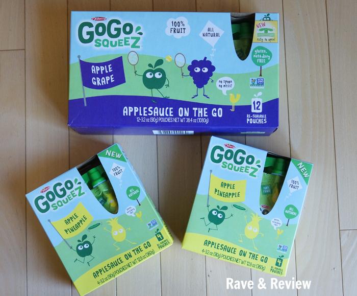 Gogo Squeez new flavors