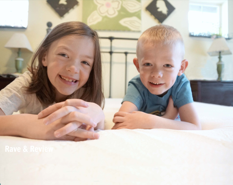 Kids on mattress
