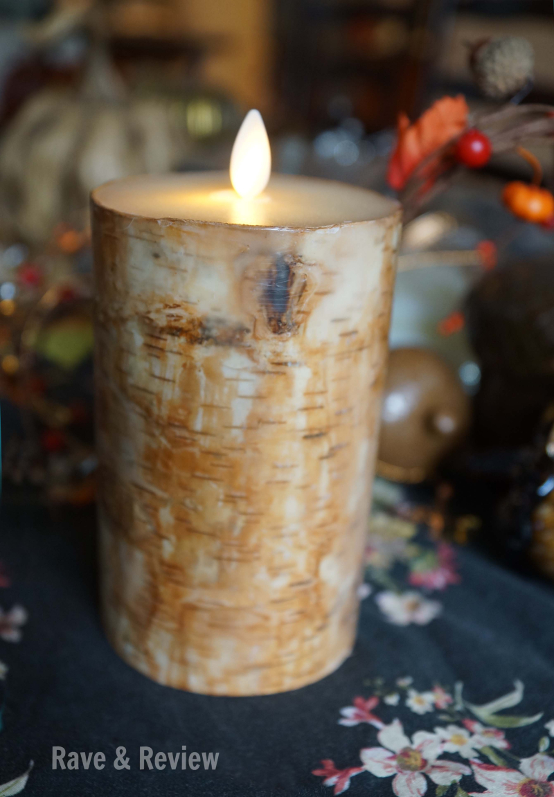 Luminara candle up close