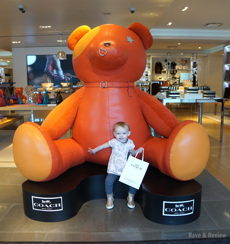 Seattle Premium Outlets Coach Bear Baby