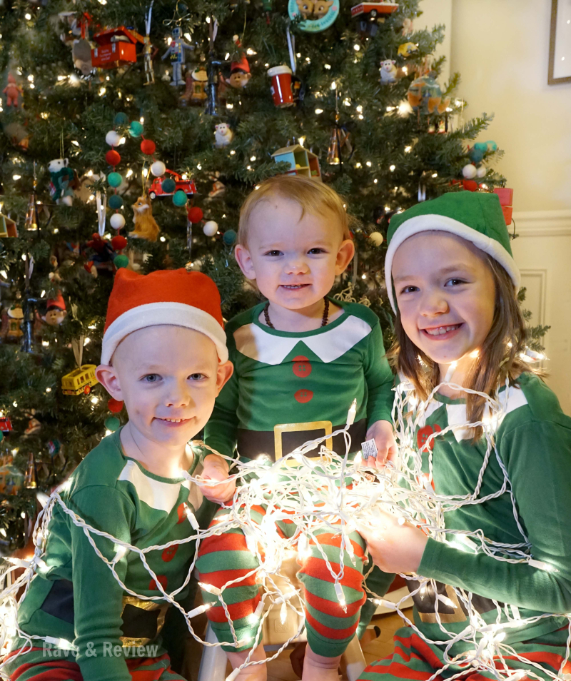Three Kids at Christmas