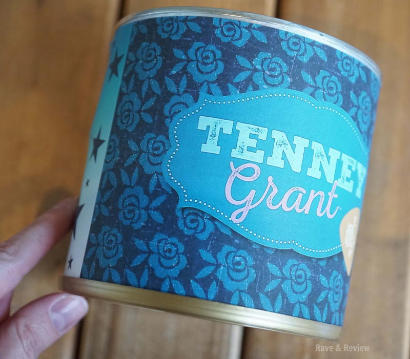 Tenney drum tin covered