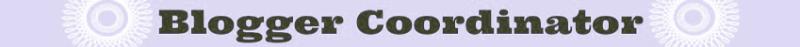 Blogger Coordinator