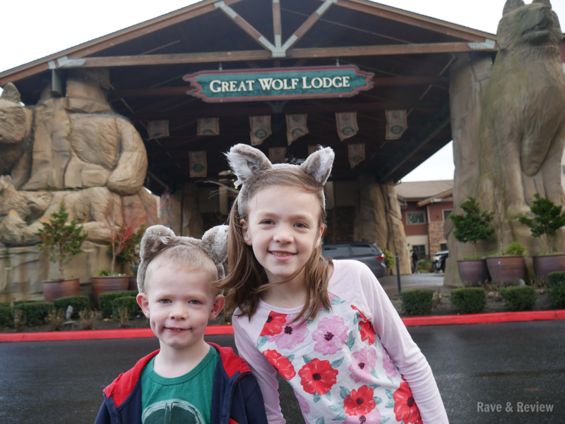 Great Wolf Lodge kiddos