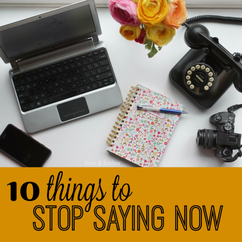 Desktops Aerial 10 things to stop saying