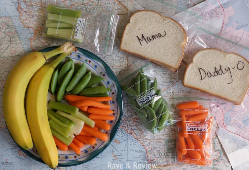 Road Trip foods