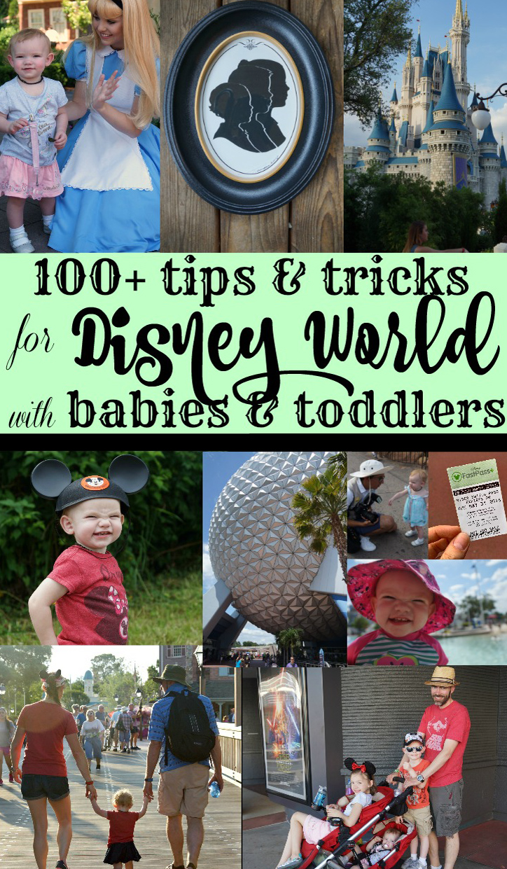 100+ tips for babies and toddlers at Disney World resized
