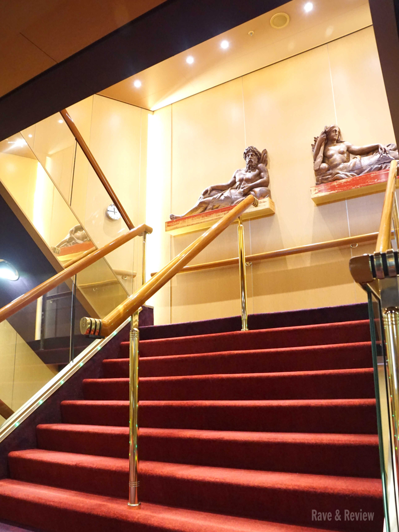 Holland America stairs