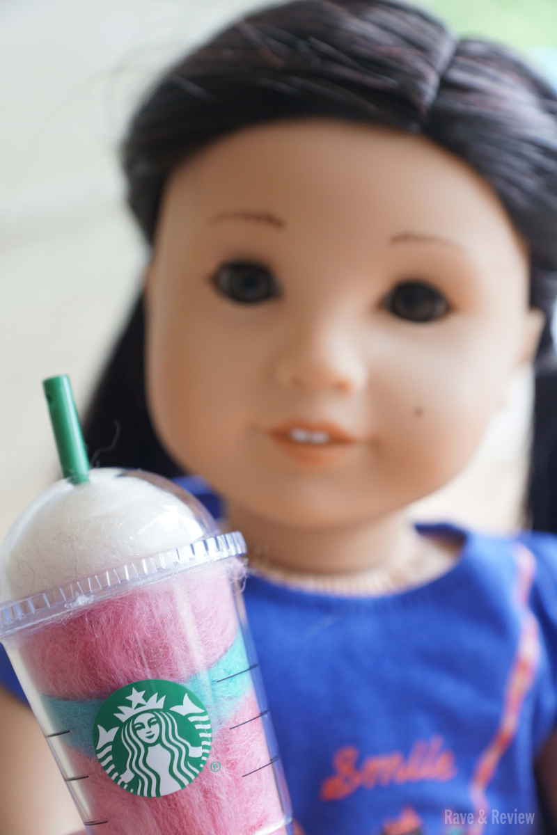 American Girl Z with Starbucks 2