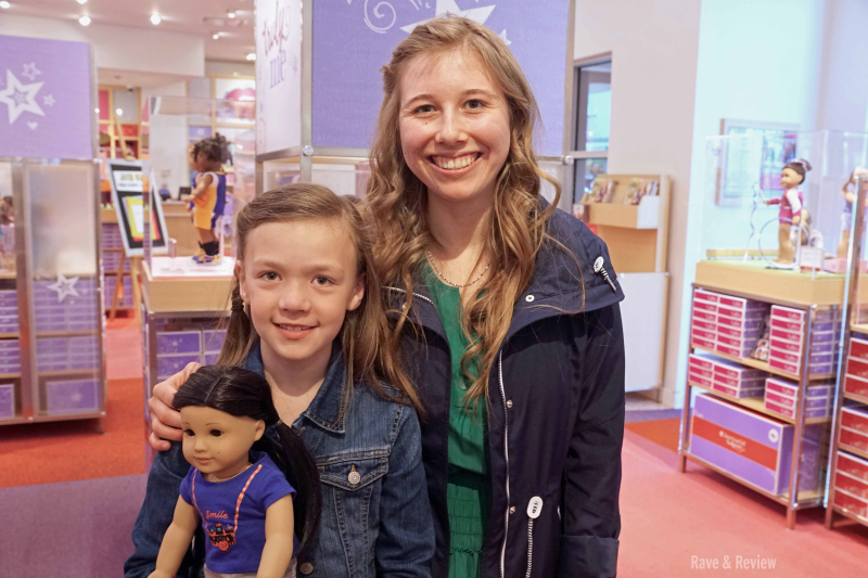 Sydney at American Girl Store