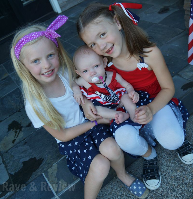 Fourth of July girls