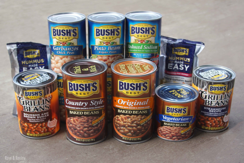 Bush's Beans in cans